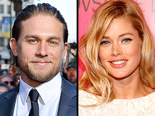 Charlie Hunnam Goes Shirtless in Super-Sexy Calvin Klein Ad with Doutzen Kroes