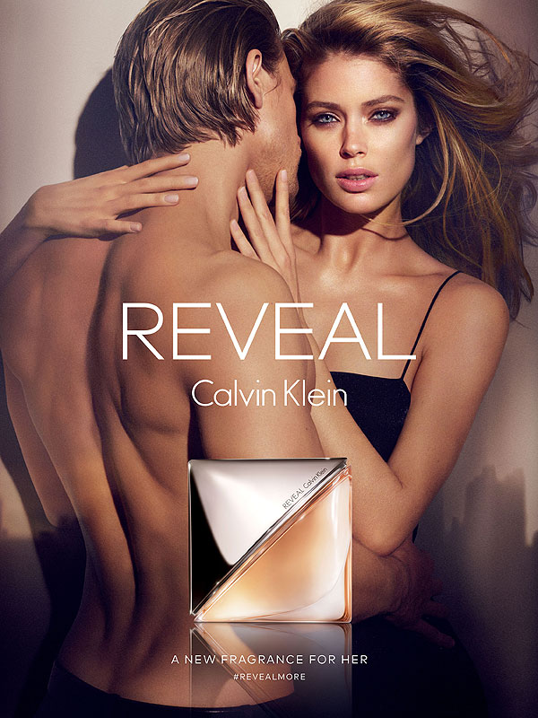 Charlie Hunnam and Doutzen Kroes Calvin Klein Reveal fragrance campaign