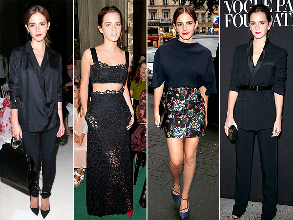 Emma Watson Paris Fashion Week