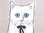 Karl Lagerfeld's Cat, Choupette, Gets a Makeup Line with Shu Uemura