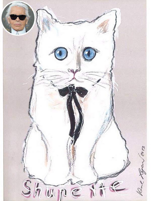 Karl Lagerfeld cat Choupette
