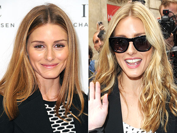 Olivia Palermo Blonde hair