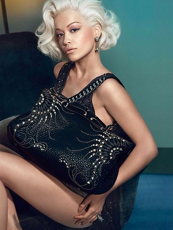 Rita Ora Roberto Cavalli campaign