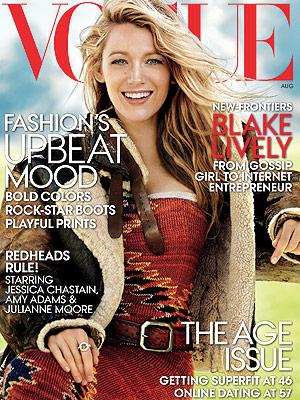 Blake Lively Vogue