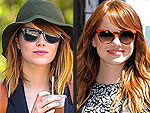 Mane Magic? Emma Stone's Hair 'Grows' Six Inches Overnight (PHOTOS)