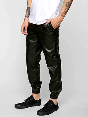Urban Outfitters faux leather pants
