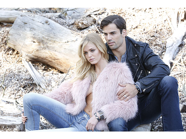 Eric Decker and Erin Heatherton Buffalo Campaign