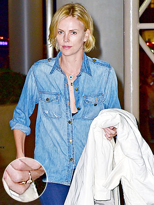 Are Sean Penn & Charlize Theron Engaged? See the Ring!