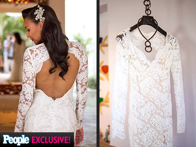 Naya Rivera's Wedding Dress and Rings: Exclusive Photos and Details | Naya Rivera