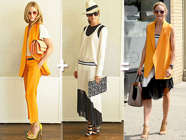 Olivia Palermo style equation