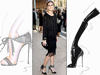 Olivia Palermo Designs Super-Chic Shoes for Aquazzura - See the First Sketches!
