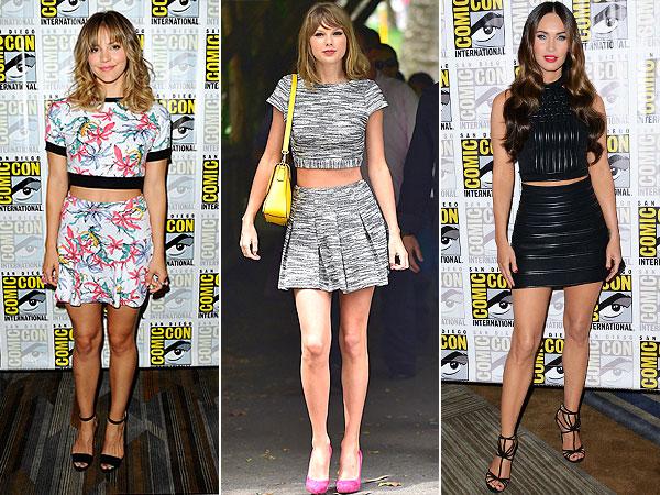 flowy dresses, sheer tops, red carpet trends