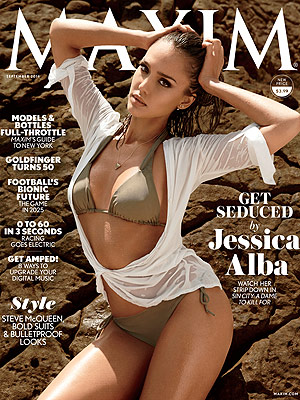 Jessica Alba Maxim