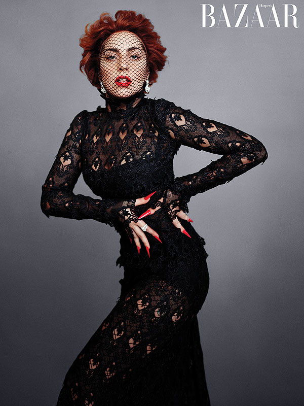 Lady Gaga Harper's Bazaar