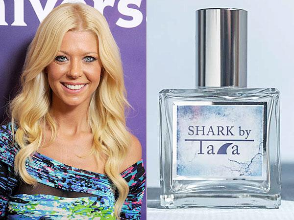 Tara Reid Shark perfume