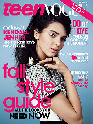 Kendall Jenner Teen Vogue