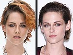 Kristen Stewart Goes Back to Brunette (and Ireland Baldwin Joins Her)