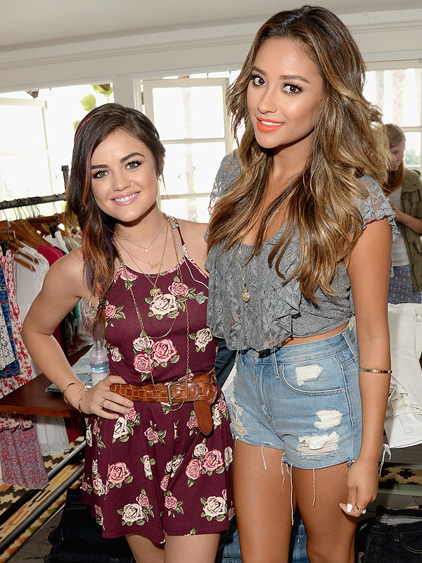 Lucy Hale Hollister