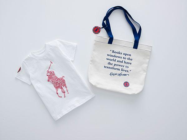 Ralph Lauren new literacy campaign