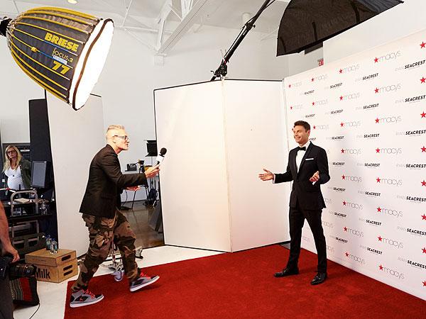 Ryan Seacrest suits Macy's
