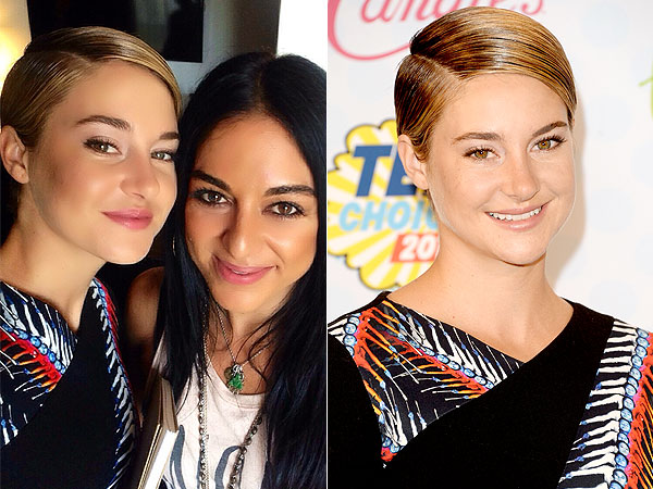 Shailene Woodley beauty Teen Choice Awards