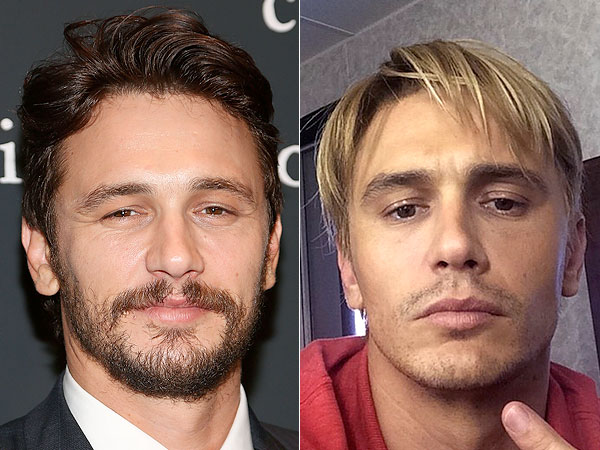 James Franco blonde