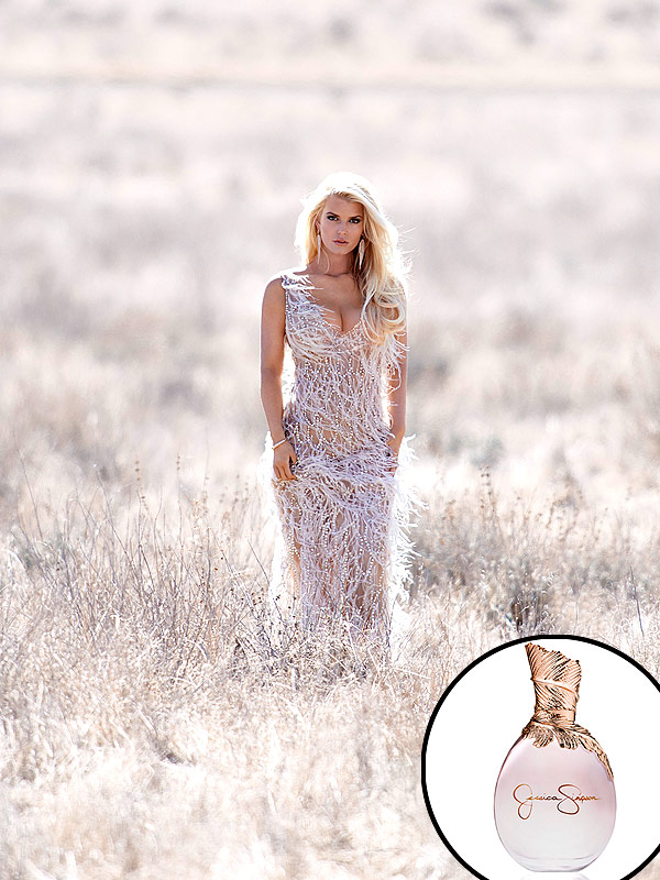 Jessica Simpson's Sexy Fragrance Ad Outtakes -- Get the ...