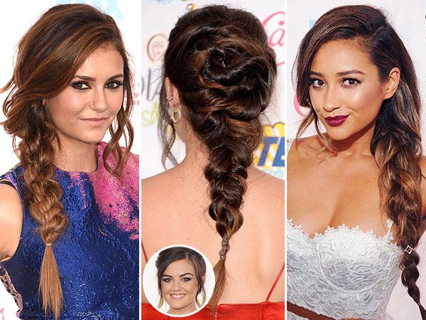 Teen Choice Awards bangs