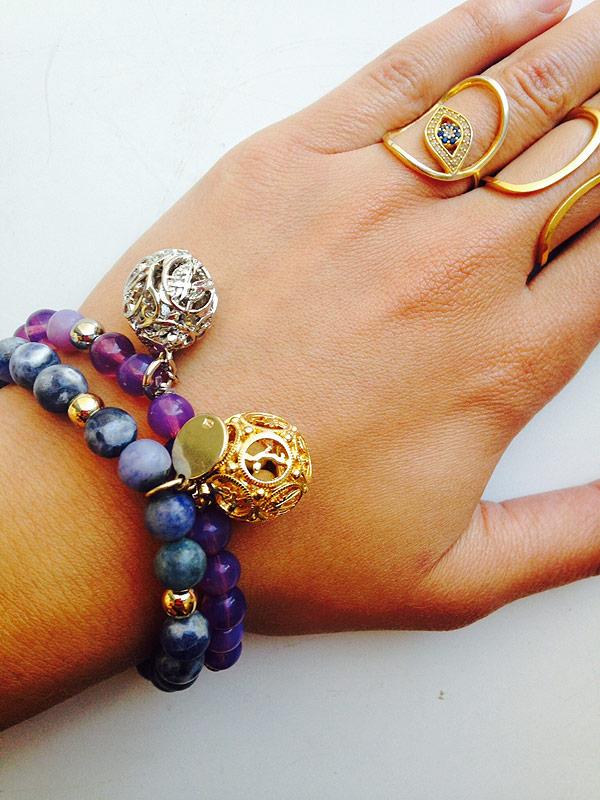 Lisa Hoffman beaded scented barcelets