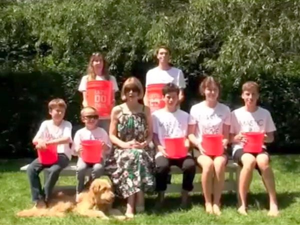 Anna Wintour Ice Bucket Challenge