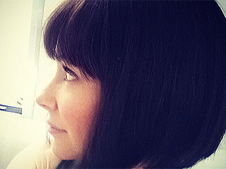 PHOTO: Evangeline Lilly Cuts a Chic Banged Bob for Her Role in Ant-Man