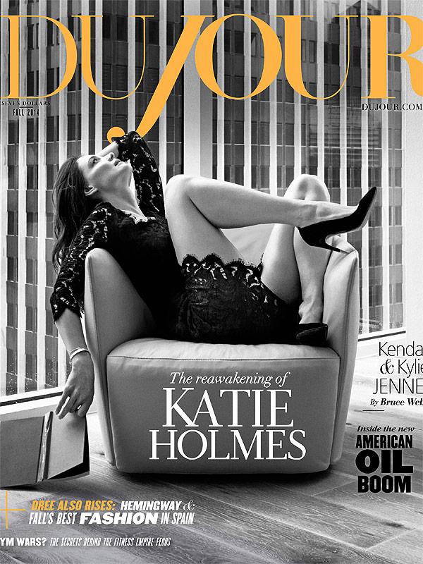 Katie Holmes DuJour Magazine