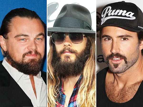 leonardo dicaprio beard
