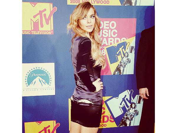 MTV VMAs Lindsay Lohan