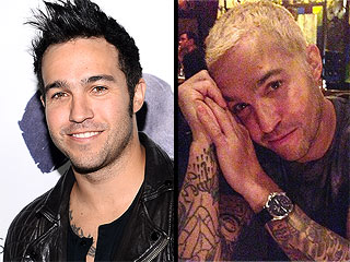 Pete Wentz Goes Blond! Plus, Another Celeb Hair Change You Have to See