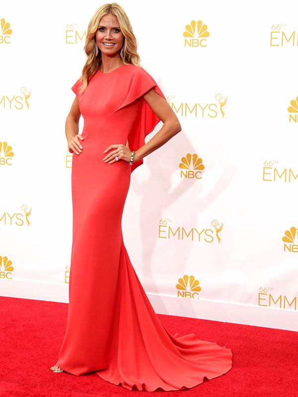 Heidi Klum Emmys 2014