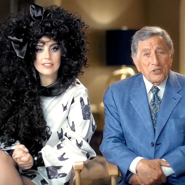 Lady Gaga and Tony Bennett H&M