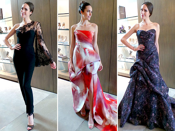 Louise Roe Emmys 2014