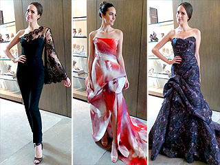 Louise Roe Tries On Three Stunning Emmys Looks – Guess Which She Picked! | Louise Roe