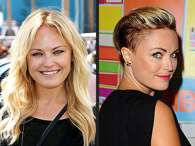 Which Actress Debuted a Shaved Head at the HBO Emmys After-Party? | Malin Akerman