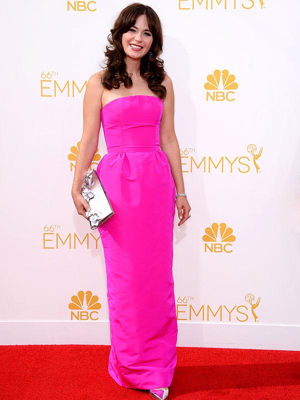 Zooey Deschanel Emmys 2014