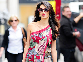 Is Amal Alamuddin Wearing Alexander McQueen for Her Wedding? | Amal Alamuddin