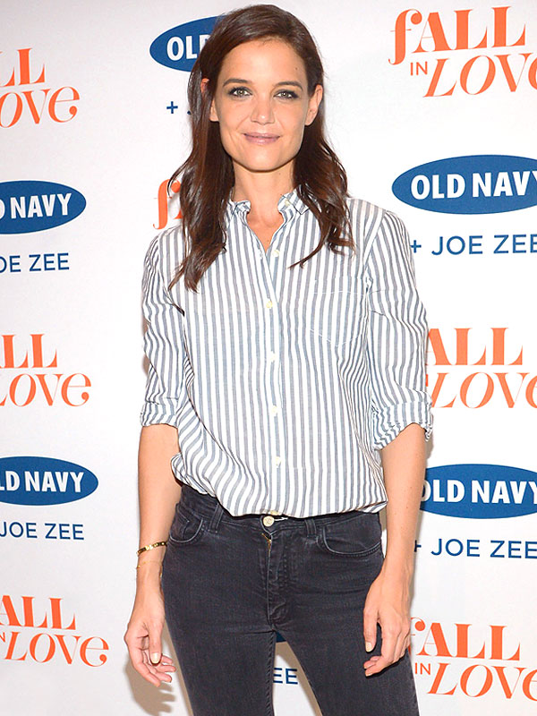 Katie Holmes at Old Navy event