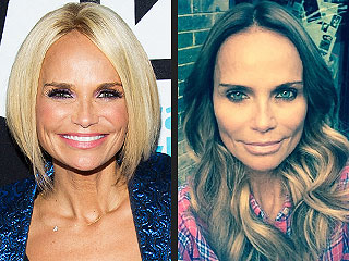 Kristin Chenoweth Goes Brunette, Gets Much-Longer Locks Overnight