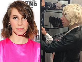 Who Is the Latest Star to Go Platinum Blonde? (Hint: She's a Pal of Lena Dunham's ) | Zosia Mamet