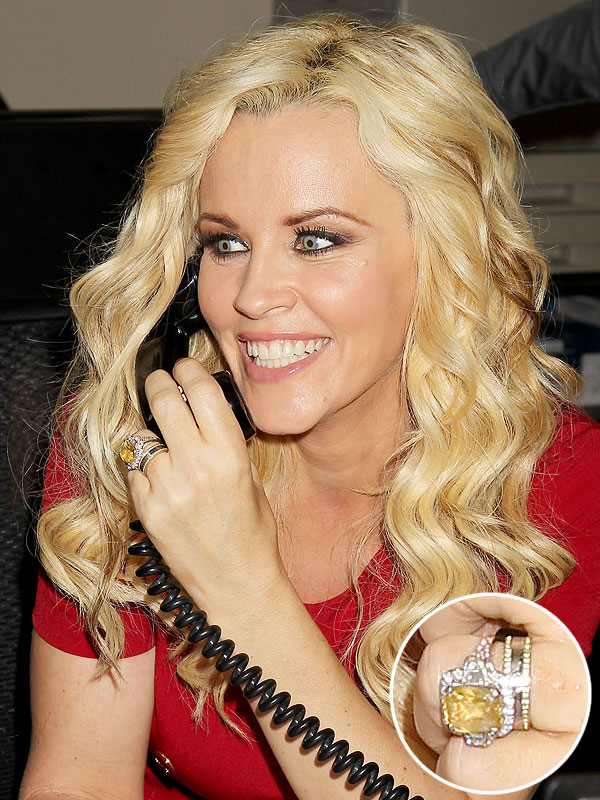 Jenny McCarthy wedding band
