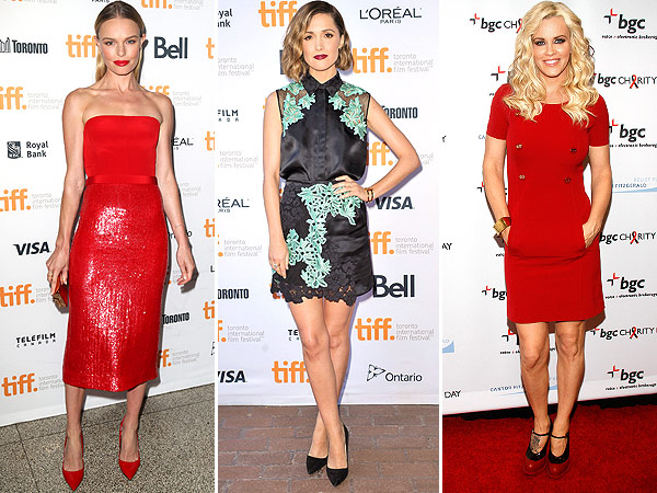 See Which Red Dress Moment Our Editors Loved This Week | Jenny McCarthy, Kate Bosworth, Rose Byrne