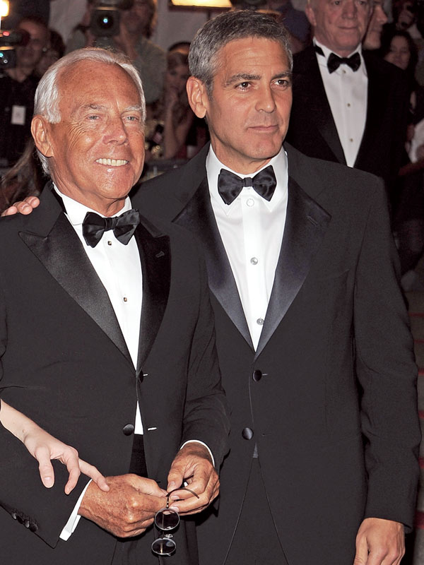 George Clooney wedding tux
