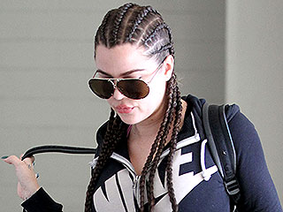 Khloé Kardashian Has Super-Long Cornrows: Did Kendall Inspire Her?