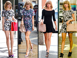 Taylor Swift's Favorite Street Style Look Is Cute and Affordable (PHOTOS) | Taylor Swift